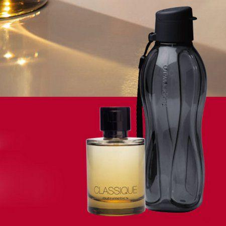 NUtrimetics Perfume Classique Deo Colonia Masculina 100ml + ECo TUpper 500ml