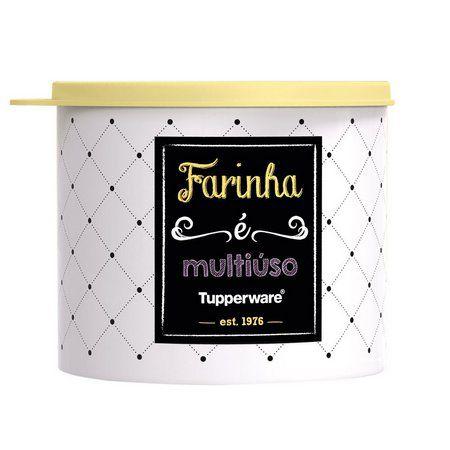 Tupperware Redondinha Bistrô Farinha 500ml