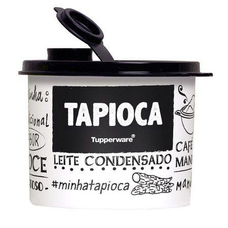 Tupperware Redondinha Tapioca PB com Bico Dosador 300g