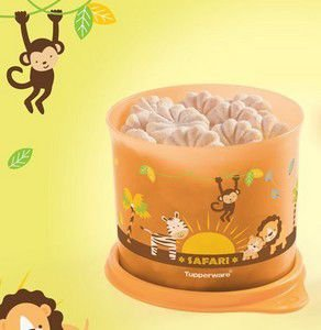 Tupper Redondinha Safari Baby 500ml - Tupperware