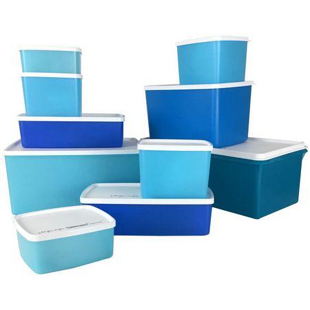Tupperware Kit Jeitosos Linha Freezer kit 10 peças