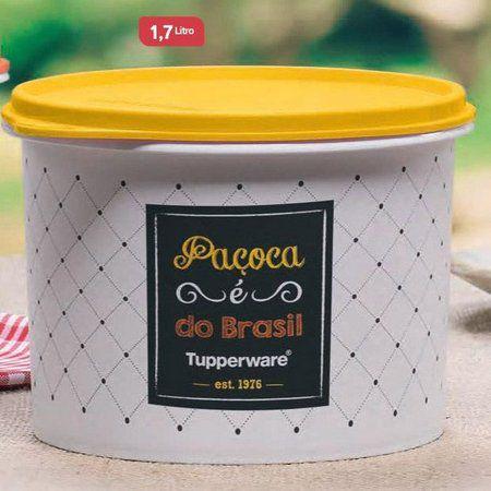 Tupperware Tupper Caixa Para Paçoca Bistrô-  1,7 lts