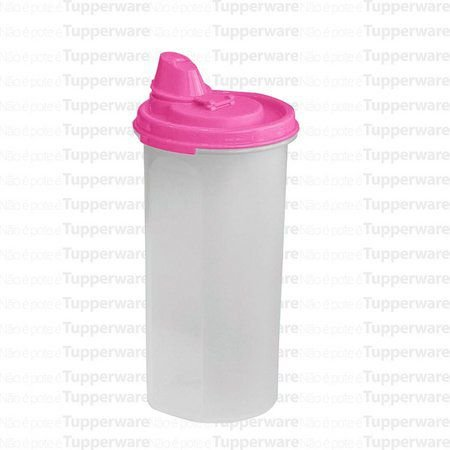 Tupperware Modular Liquido 650 ml Tampa Rosa