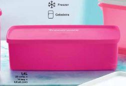 Tupperware Caixa ideal Pink 1,4 litros