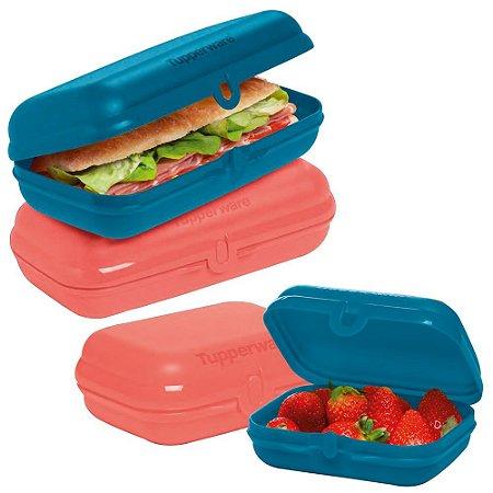 Tupperware Tupper Snack Kit com 4 Peças