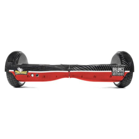 HOVERBOARD VERMELHO CARBONO TWO DOGS