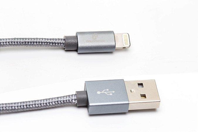 Cabo de Dados Micro USB de Nylon com 2 Metros