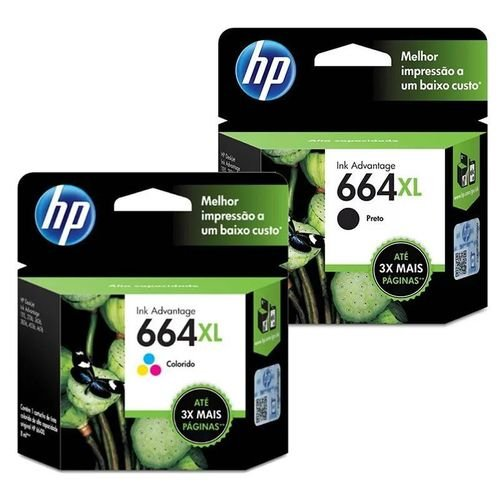 CARTUCHO HP 664 XL