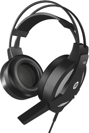HEADSET GAMER HP PRETO H100