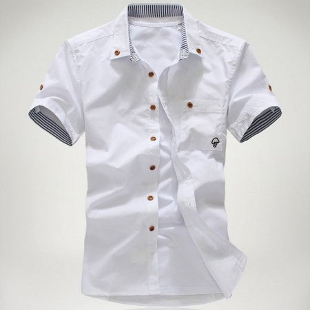Camisa Masculina Casual Cogumelo MD01