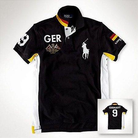 Camisa Polo Masculina Ralph Alemanha