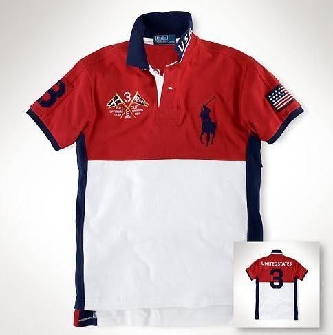 Camisa Polo Masculina Ralph EUA