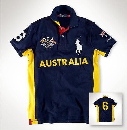 Camisa Polo Masculina Ralph Austrália