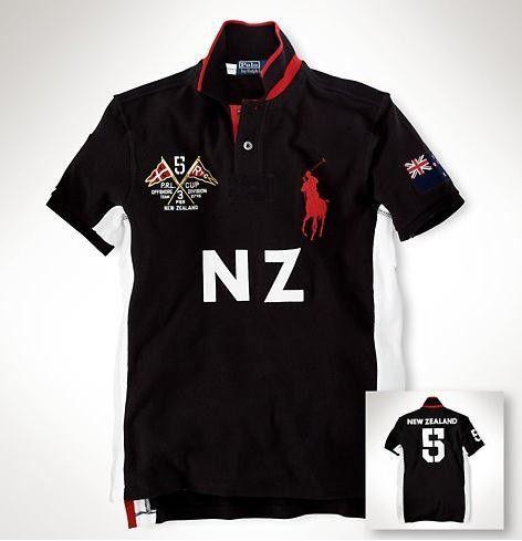 Camisa Polo Masculina Ralph Nova Zelândia