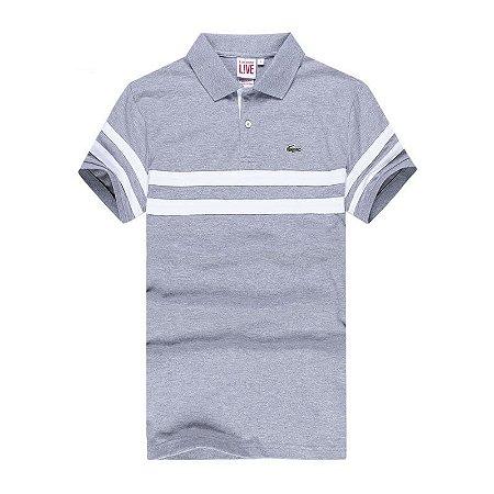 Camisa Polo Masculina Lacos Básica Modelo 01
