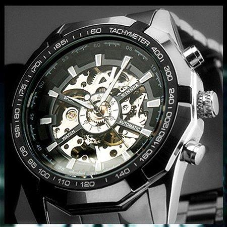 Relógio Masculino Automatic Steampunk Modelo 01