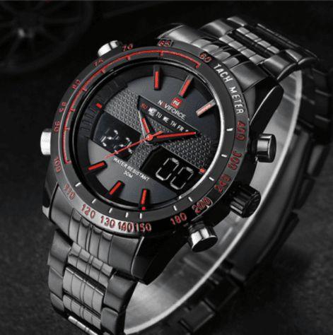 Relógio Masculino Analógico Digital Naviforce