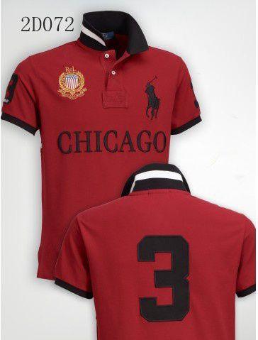 Camisa Polo Masculina Ralph Chicago