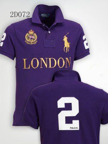 Camisa Polo Masculina Ralph London