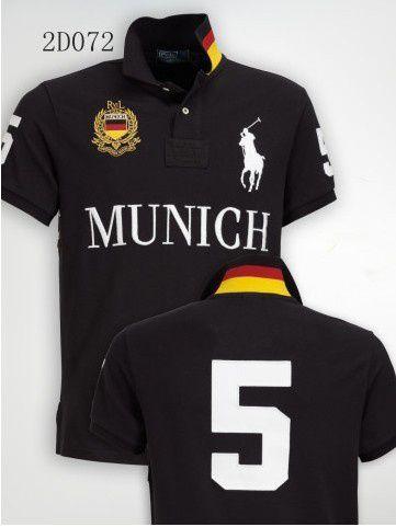 Camisa Polo Masculina Ralph Munich