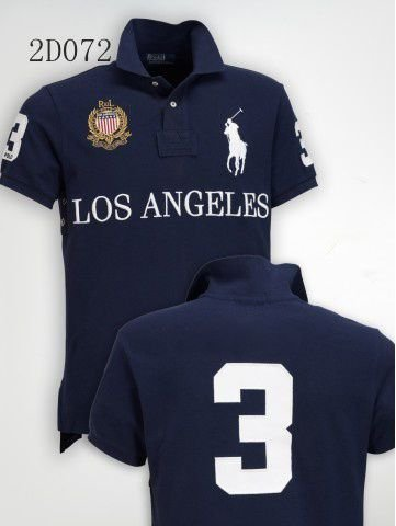 Camisa Polo Masculina Ralph Los Angeles
