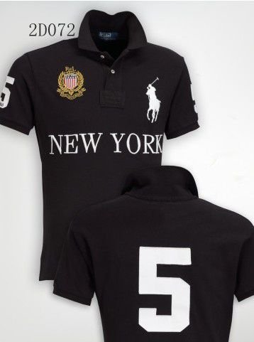Camisa Polo Masculina Ralph New York