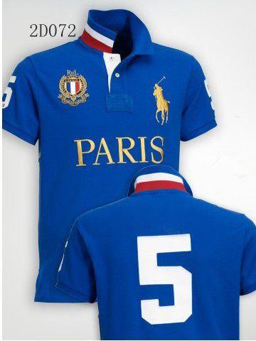 Camisa Polo Masculina Ralph Paris