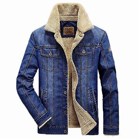 Jaqueta Masculina Jeans American Legend Fashion Modelo 01