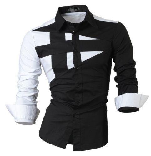 Camisa Masculina Casual Long Sleeve  Modelo 01