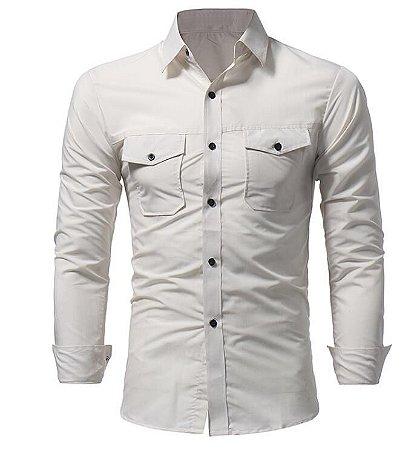 Camisa Masculina Casual John's BK