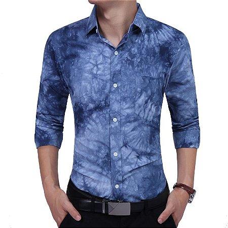 Camisa Masculina Casual Modern