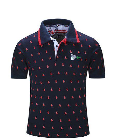 Camisa Polo Masculina Fredd  Modelo 01
