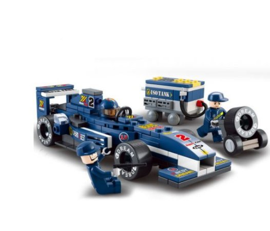 Carro De Corrida F1 de blocos