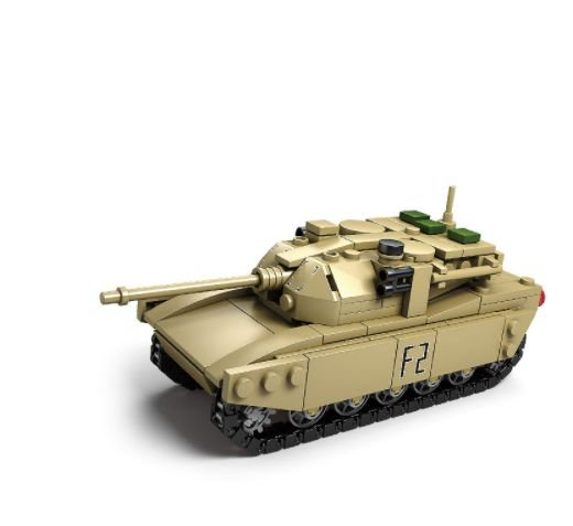 Tanque Militar de blocos