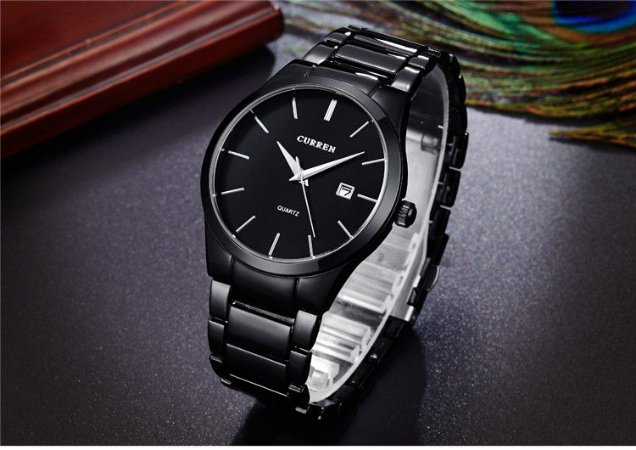 Relógio Masculino Curren Modelo 07