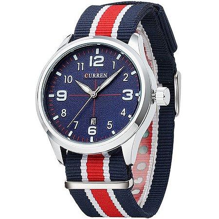Relógio Masculino Curren Modelo 06