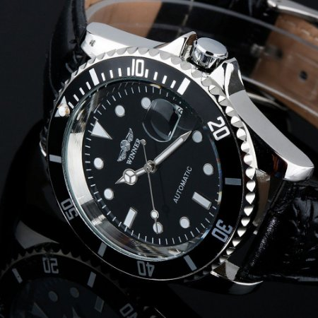 Relógio Masculino Winner Automático Modelo 04