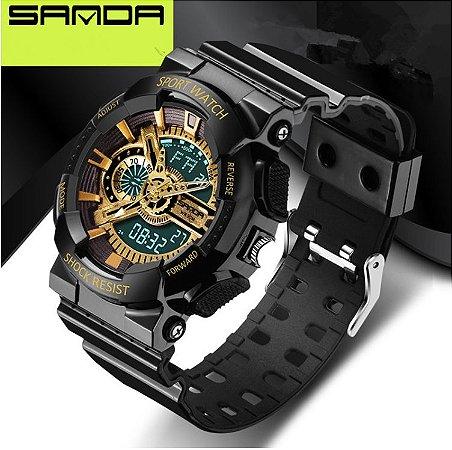 Relógio Masculino Sanda Sport Modelo 01