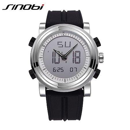 Relógio Masculino Sinobi Modelo 01