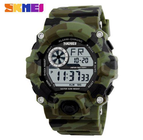 Relógio Masculino Skmei S-Shock Military Modelo 01