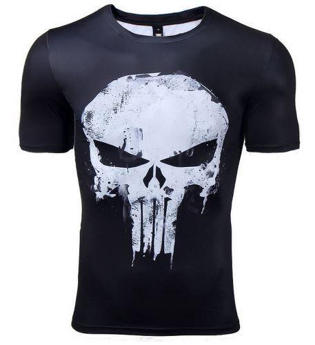 Camiseta Masculina Skull Modelo 01