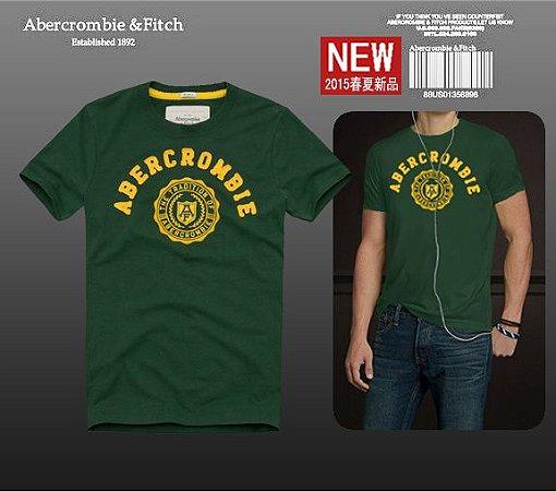 Camiseta Masculina Holli Aber A&F Modelo 01