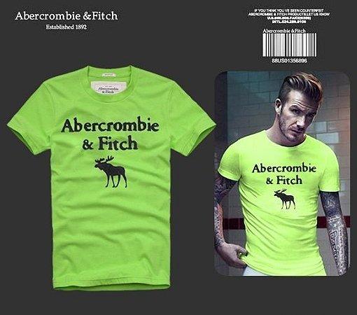 Camiseta Masculina Holli Aber A&F Modelo 02