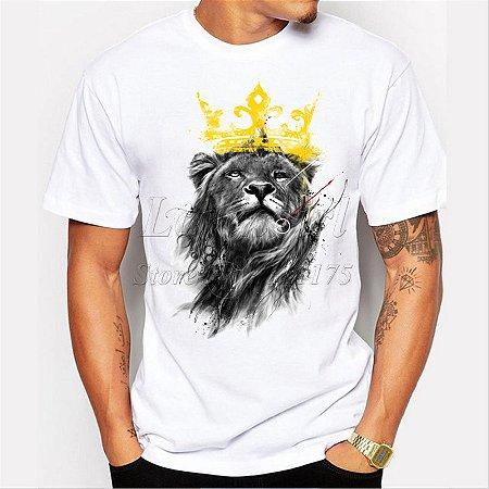 Camiseta Masculina Lion