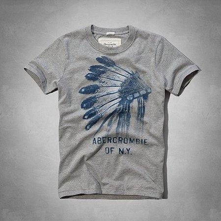 Camiseta Masculina Holli Aber A&F Modelo 27