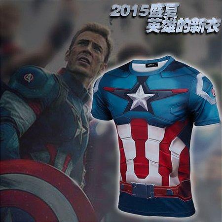 Camiseta Masculina Super-Heróis