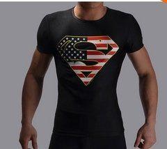 Camiseta Masculina Super-Heróis Modelo 17
