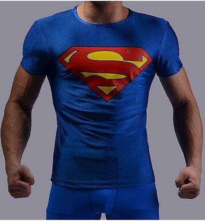 Camiseta Masculina Super-Heróis Modelo 18