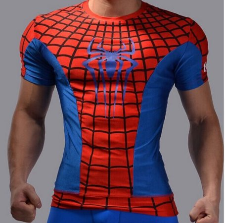Camiseta Masculina Super-Heróis Modelo 22