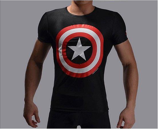 Camiseta Masculina Super-Heróis Modelo 23
